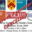 seminar cancelled