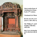 jain wooden house shrine