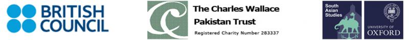 CWT Fellowship for Pakistan logos