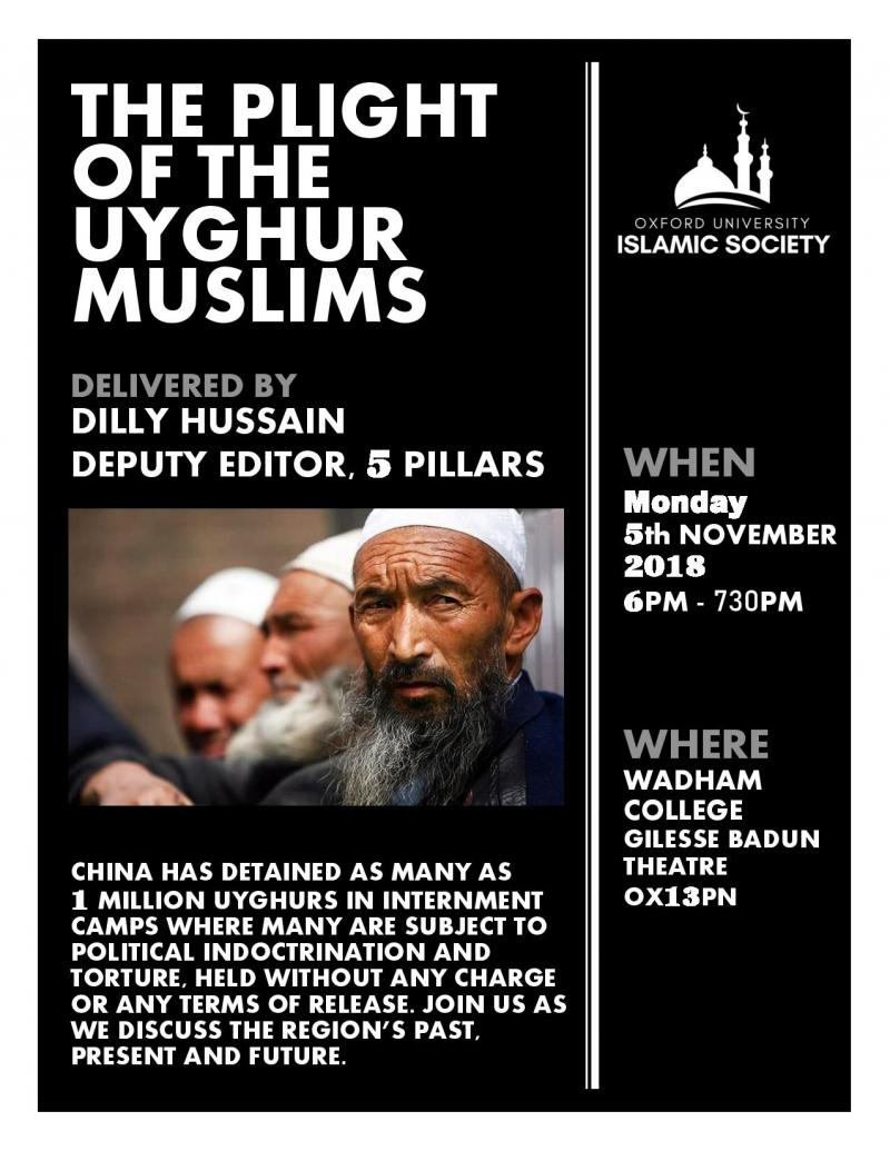 final uyghur event