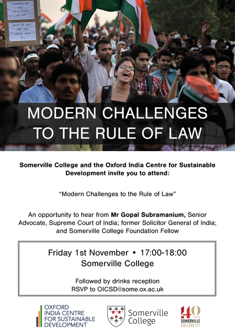 modern challenges to the rule of law