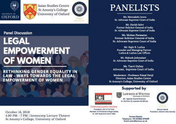 legal empowerment of women