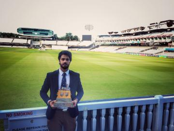 bhavya at lords