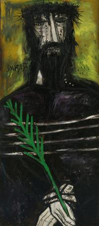 francis newton souza 1924 2002 christ on palm sunday 1959 c estate of f n souza all rights reserved dacs 2017