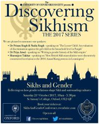 sikhs and gender poster
