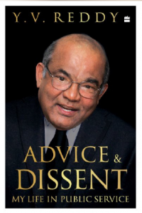 y v reddy advice and dissent